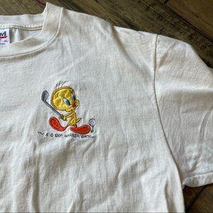 Vintage anvil 1995 tweety bird t shirt XL